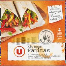 Fajita Kit U, paquet de 505g