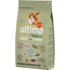 Ultima Croquettes Pour Chat Adulte Poulet  Nature 1,25kg