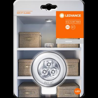 Led LEDVANCE Dot-It Classic, argent