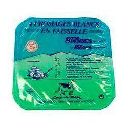 4 Faisselles fromage blanc 4x250g CCF