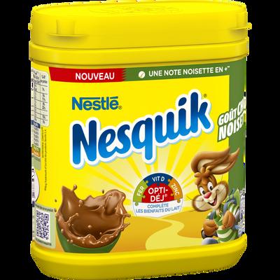 Nesquik goût choco noisettes, , boîte, 490g,NESTLE,