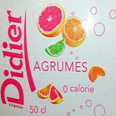 Eau minérale aromatisé agrumes Didier 50cl