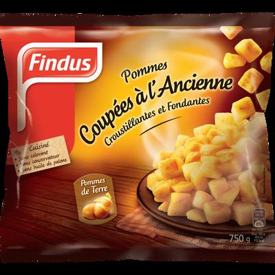 Pommes de terre coupées à l'ancienne FINDUS, 750g