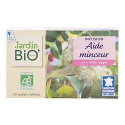 J.Bio infusion aide minceur bio saveur fruits rouges 30g