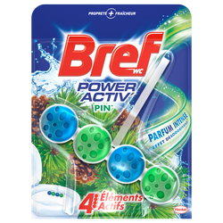 Bloc cuvette Power Activ au pin BREF WC, 50g
