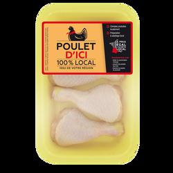 Pilon poulet jaune, POULET D'ICI, France, 4 pièces
