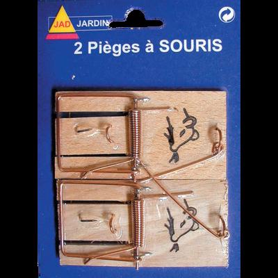 Piège à souris, pack de 2