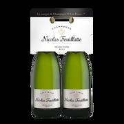 Nicolas Feuillatte Champagne Brut Sélection Nicolas Feuillatte, 2x75cl