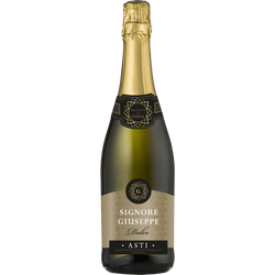 Vin blanc mousseux Asti spumante docg bl Signore Giuseppe Off Trade, 75cl