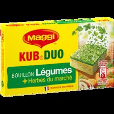 Bouillon légumes huile d'olive duolino MAGGI, 10 tablettes soit 105g