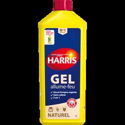 Gel allume feu naturel nouvelle formule HARRIS, flacon de 1L