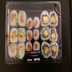 Sushi saumon mixte