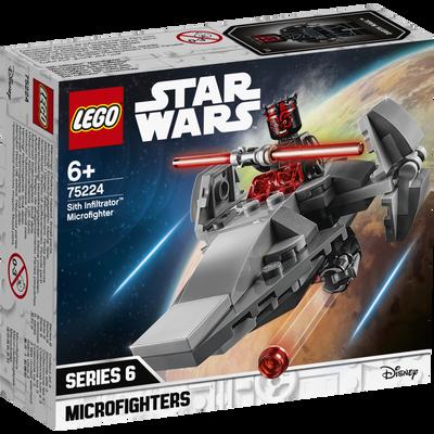 Microvaisseau sith infiltrator LEGO Star wars