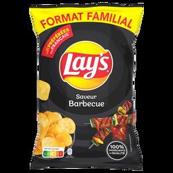Chips saveur barbecue LAY'S, sachet de 240g