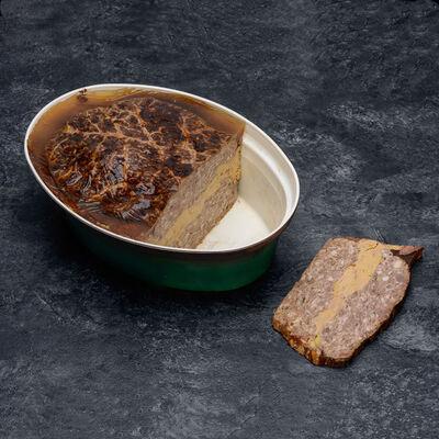 Pâté recette landaise foie gras canard (20%)
