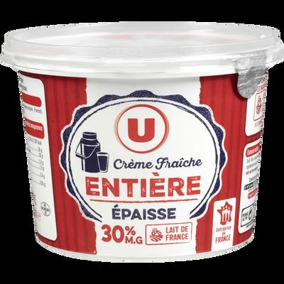 Crème fraîche épaisse U, 30%MG, 50cl