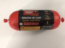 Saucisse de Lyon qualité supérieure 250g