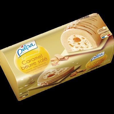 Bûche Gourmand caramel beurre salé PILPA, 535g