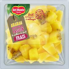 Ananas Fruit de la passion, DELMONTE, barquette, 250g