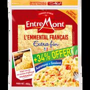 Entremont Emmental Râpé Extra Fin Français Entremont, 30%mg, 300g+34% Offert
