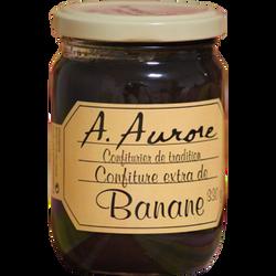 Confiture de banane AURORE MARTINIQUE, bocal de 330g
