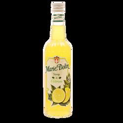 Sirop de citron MARIE DOLIN, bouteille de 70cl