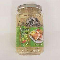 Sauce chien KOMLA, le bocal de 300g