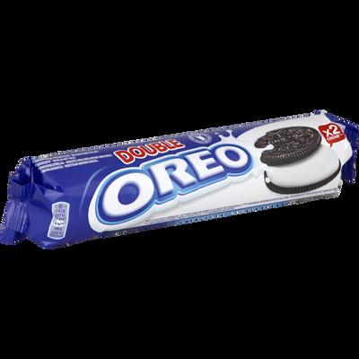 Biscuit double crème rouleau Lu OREO, paquet de 157g