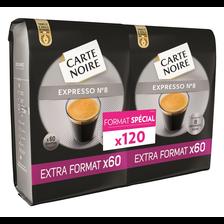 Carte Noire Café Expresso , 120 Dosettes