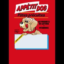 Pâtes précuites aux vitamines pour chien, sac de 3 kg