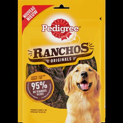 Récompense pour chien Ranchos originals au poulet PEDIGREE, boite de 70g