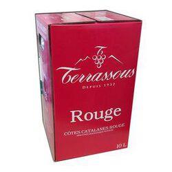 BIB Rouge, Vin de Pays, Cotes Catalanes 10L TERRASSOUS