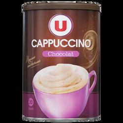 Cappuccino saveur chocolat U, boîte en métal de 360g