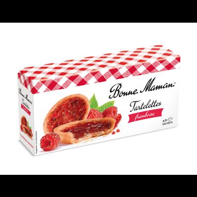 Tartelettes aux framboise BONNE MAMAN, 9 pièces, 135g
