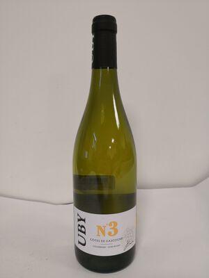 IGP Côtes de Gascogne - Domaine Uby - N°3 - Colombard & Ugni Blanc