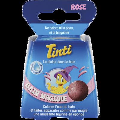 Balle de bain magique rose TINTI