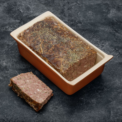 Pâté de campagne au poivre vert à l'ancienne, viande de porc française