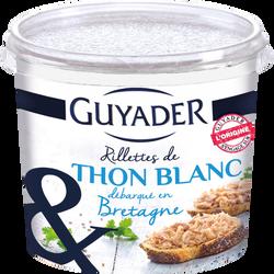 Rillettes de thon au sel de Guérande GUYADER, pot de 150g
