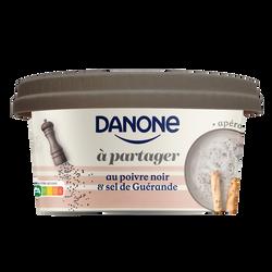 Spécialité laitière salée à partager au sel de Guérande et aupoivre noir DANONE 170g