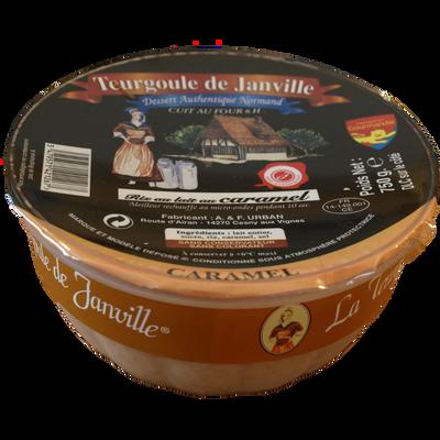 Dessert de riz au lait au caramel TERGOULE DE JANVILLE, 750g