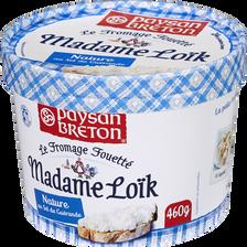 Fromage fouetté pasteurisé Madame Loïk sel Guérande 24%MG, PAYSAN BRETON, 460g