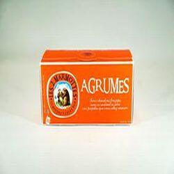 Infusion Agrumes, LES 2 MARMOTTES, la boite de 30 sachets, 55g.