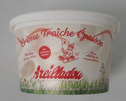 Creme fraiche épaisse 35%mg, Areilladou 200g