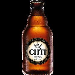 Bière Triple CH'TI, 8°3, bouteille de 33cl