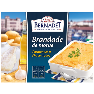 Parmentier Brandade De Morue Parmentier, Cote Basque, 1kg