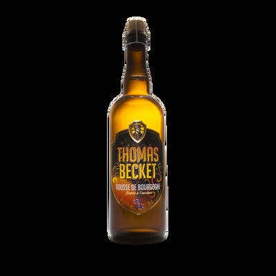 Bière rousse l'embrasée THOMAS BECKET 6.5°, bouteille de 75cl