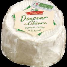 Douceur chèvre au lait thermisé FERME DE LA TREMBLAYE, 22% de MG, 120g