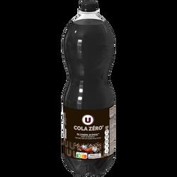 Boisson gazéifiée saveur cola avec édulcorant, 1L