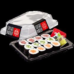 Maki mix SUSHI DAILY (4 maki saumon, 4 maki thon, 4 maki concombre), 183g