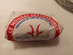 MOISSAC  CEVENNES X5 LAIT CRU